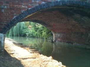 Bridge over canal.