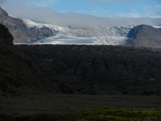 Skaftafellsjokull glacier.