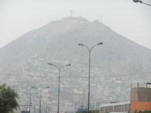 Slums on Lima outskirts.