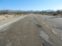 Road in the Mojave.