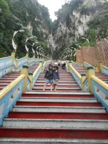272 stairs lead up to the Temple Cave.