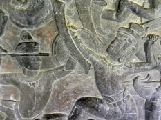 Bas-relief detail.