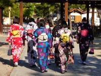 Geikos in Goin Kyoto.