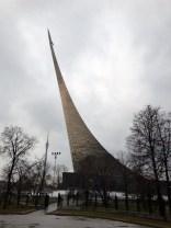Cosmonaut memorial.