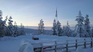 Clear skies at Saariselka.