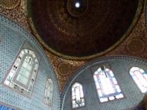 Inside Topkapi Palace.