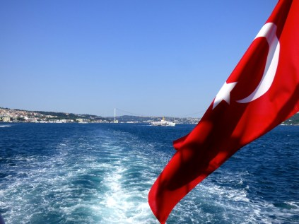 Bosphorus cruise.