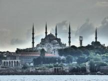 Blue Mosque from the Golden Horn.