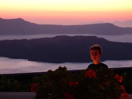 Santorini sunset.