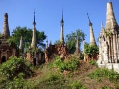 Pagodas.