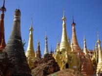 More and more pagodas.