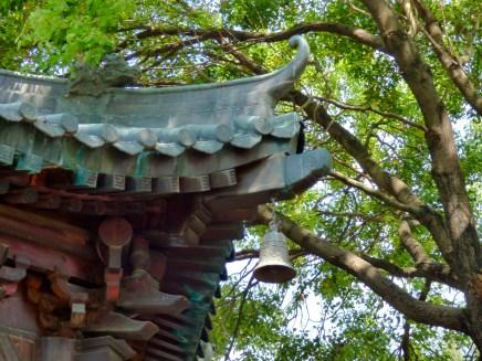 Taoist temple detail.