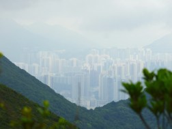 Distant Hong Kong.