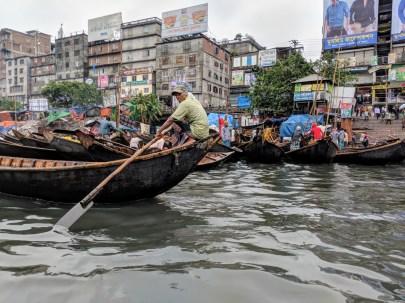 Dhaka river boats.