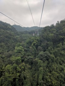 Maokong cable car.