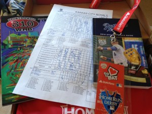 2012 Media Guide, All Star Program and a Scorecard from me