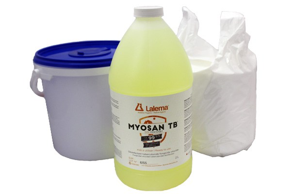 Dry Wipes and MYOSAN TB Kit