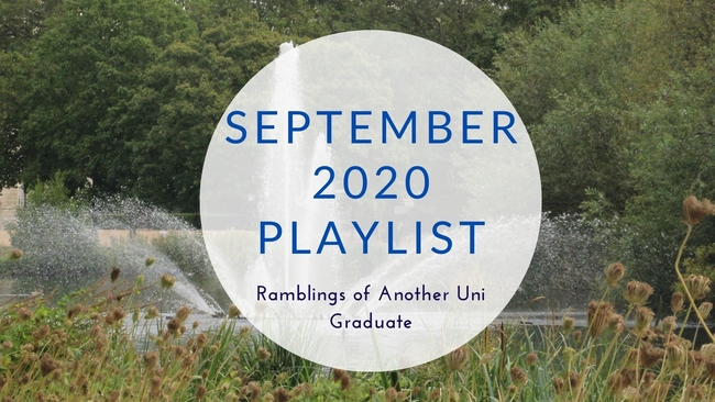 September 2020 Playlist