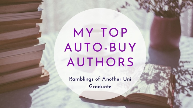 My Top Auto-Buy Authors
