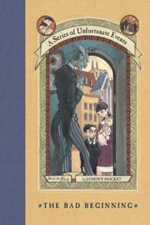 Book Review and TBR Commentary: The Bad Beginning by Lemony Snicket