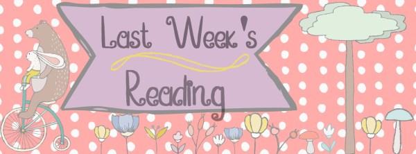 Last Week's Reading