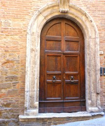 Tuscan Style Wood Entry Doors