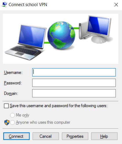 Windows 10 VPN client won't connect