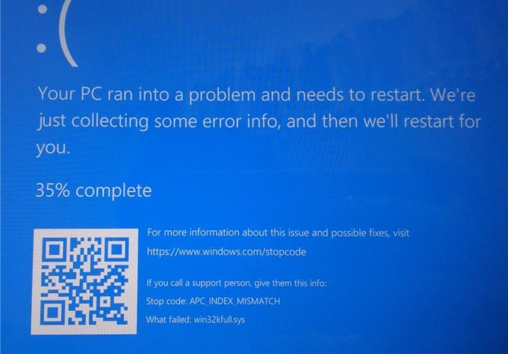 win32kfull.sys BSOD When Printing - SOLVED!