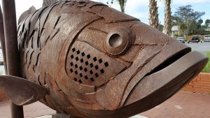 fish sculpture in Palatka