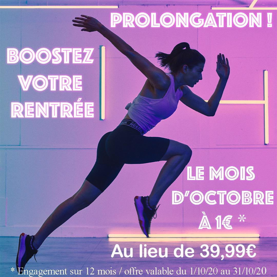 promo rentrée fitness