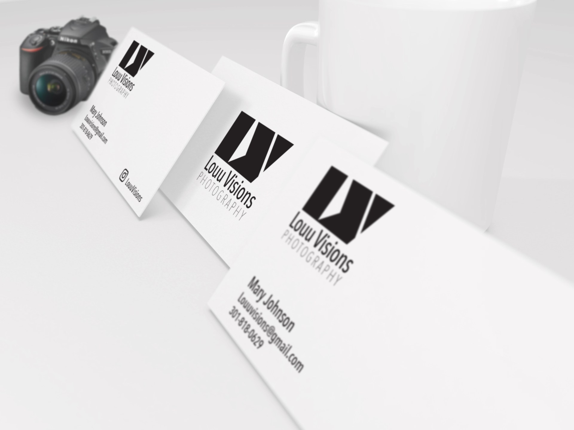 Louu Vision logo Design, Logo, Logo Design