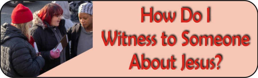 Free eBook is about witnessing for the Lord