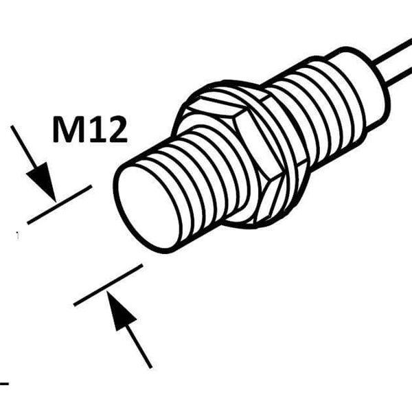 Panasonic GX-F12MU-J Cylindrical Inductive Proximity