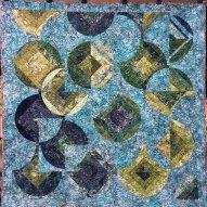 Bayou Modern Quilt Handmade