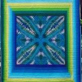 Custom Barefoot Modern Quilt Handmade