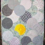 Custom Sunbreak Modern Quilt Handmade