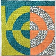 Dot Spot Modern Quilt Handmade