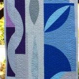 Funky Table Runner Modern Quilt Handmade
