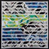 Kinetic Modern Quilt Handmade