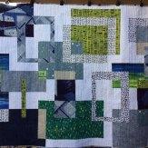 Levitate Modern Quilt Handmade