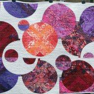Mango Blush Modern Quilt Handmade