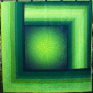 Phosphorescence Modern Quilt Handmade