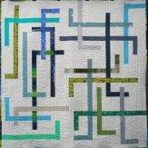 Pivot Modern Quilt Handmade
