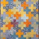 Plus Two Modern Quilt Handmade