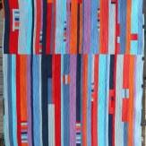 Pueblo Modern Quilt Handmade