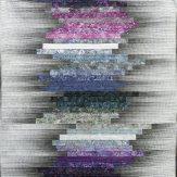 Purple Haze Modern Quilt Handmade