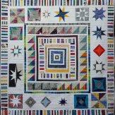 Roam Modern Quilt Handmade