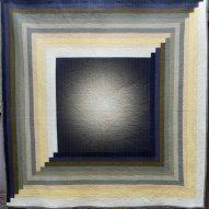 Supernova Modern Quilt Handmade