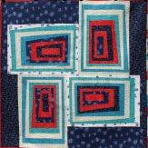 Tilt Modern Quilt Handmade