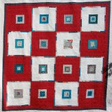 Your Move Modern Quilt Handmade